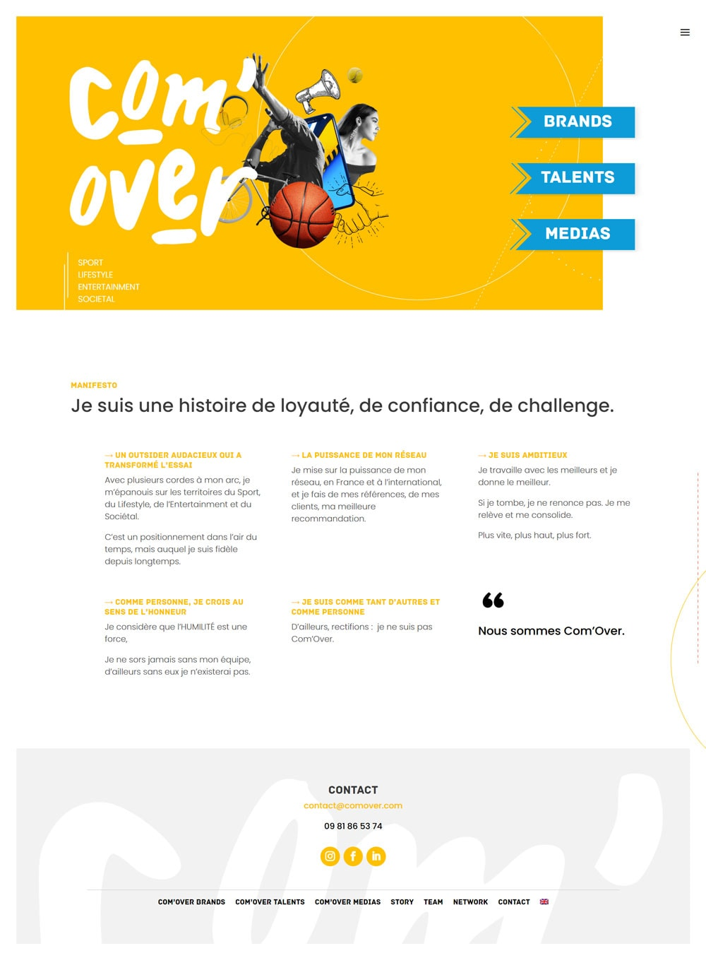 refonte site web Com'Over