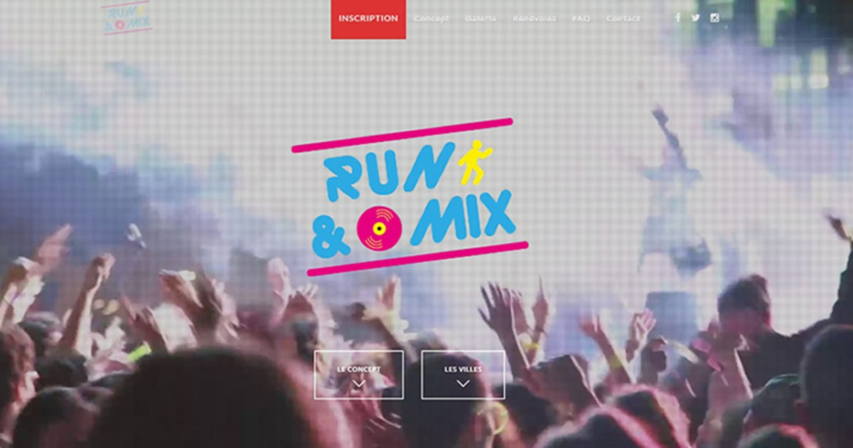 promotion course Run&Mix